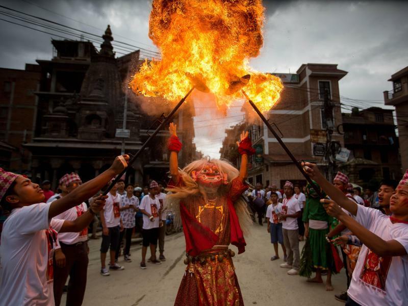 Newari-Festival - Foto: Sulav Shrestha/XinHua