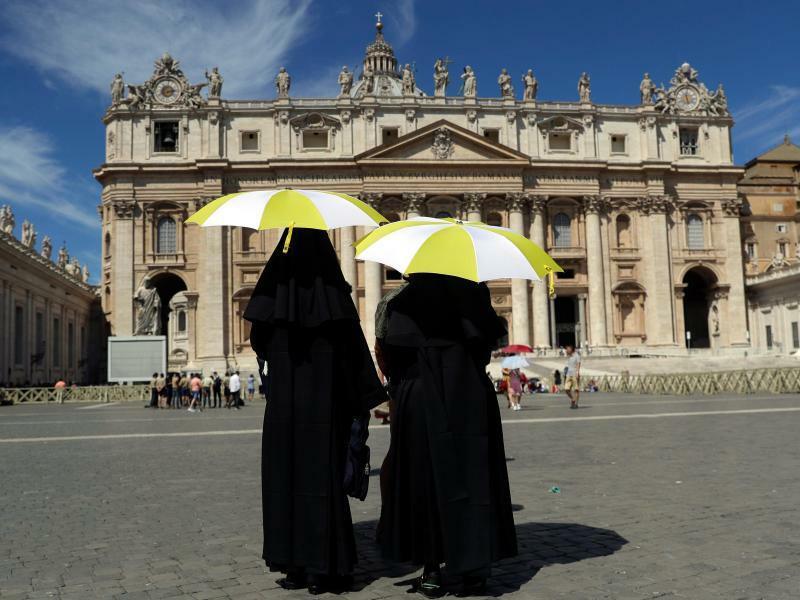 Sommer in der Vatikanstadt - Foto: Gregorio Borgia/AP