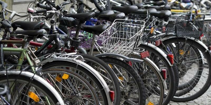 Fahrrad-Stellplatz - Foto: Patrick Seeger/Illustration