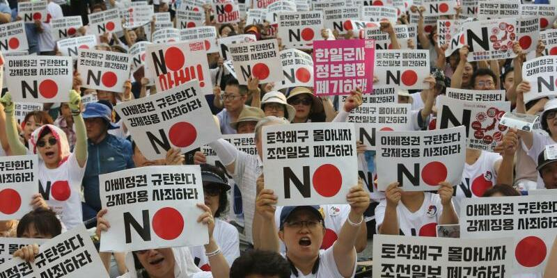 Handelsstreit - Foto: Ahn Young-Joon/AP