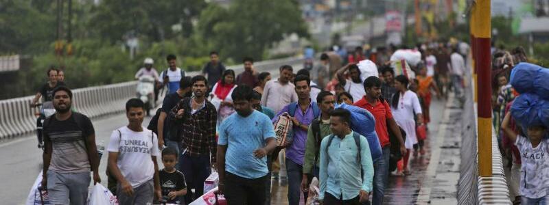 Kashmirkonflikt - Foto: Channi Anand/AP