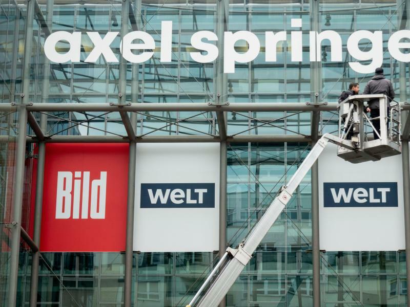 Axel Springer - Foto: Kay Nietfeld
