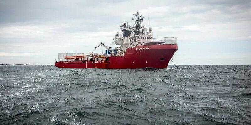 Seenotrettung im Mittelmeer - Ocean Viking - Foto: Anthony Jean/SOS Mediterranee