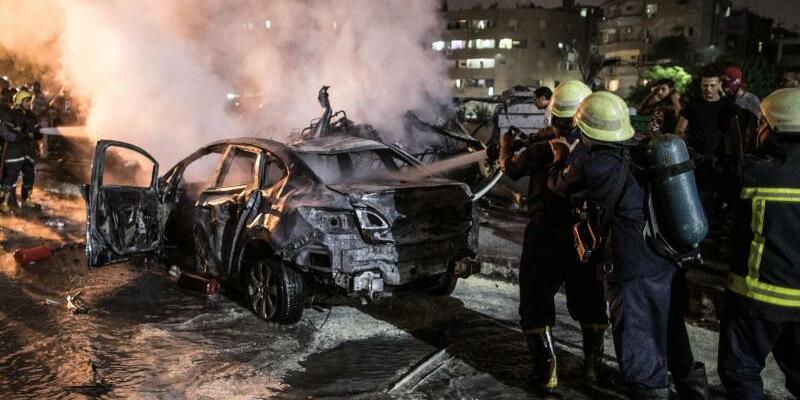 Explosion in Kairo - Foto: Oliver Weiken