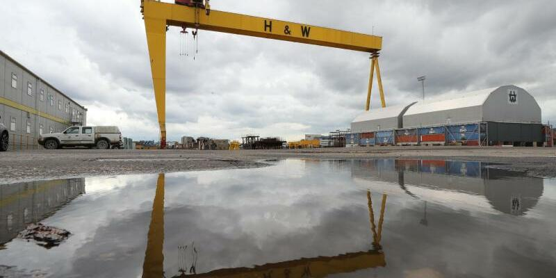 Harland & Wolff kündigt Insolvenz an - Foto: Liam Mcburney/PA Wire