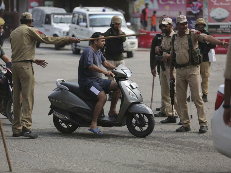 Kaschmirkrise - Foto: Channi Anand/AP