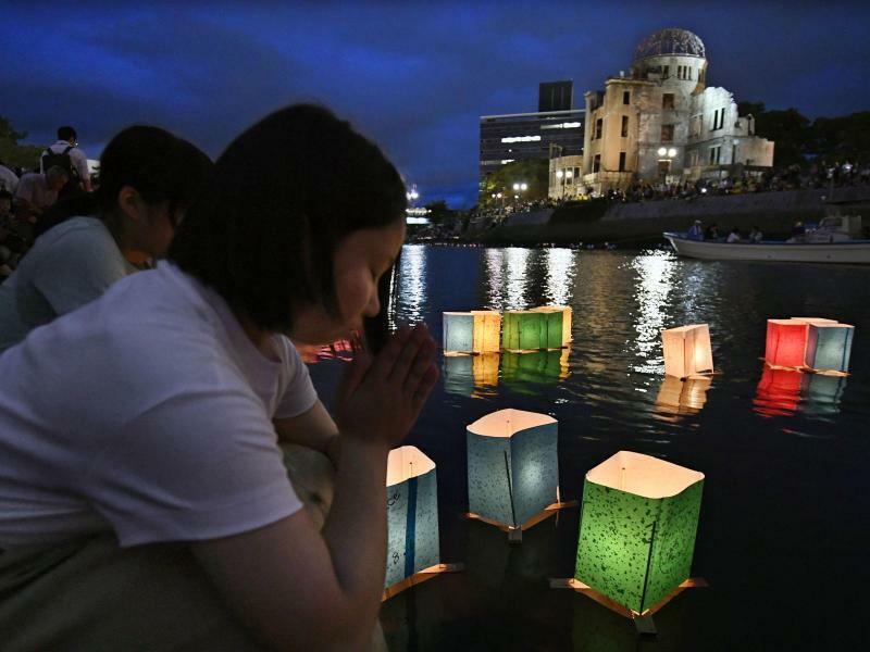 Gedenken - Foto: Kyodo