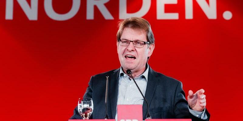 Ralf Stegner - Foto: Ralf Stegner sieht in dem Mitgliederentscheid über die künftige Parteispitze eine «Riesenchance». Foto:Markus Scholz