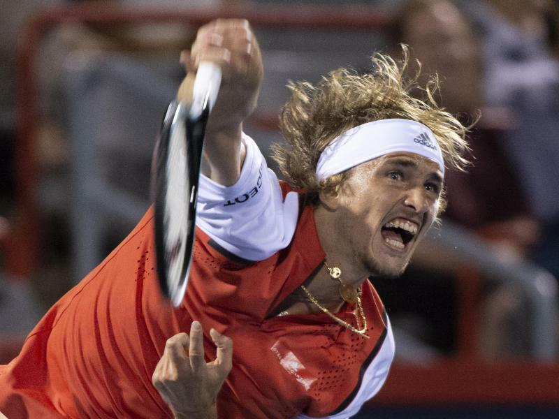 Alexander Zverev - Foto: Paul Chiasson/The Canadian Press/AP