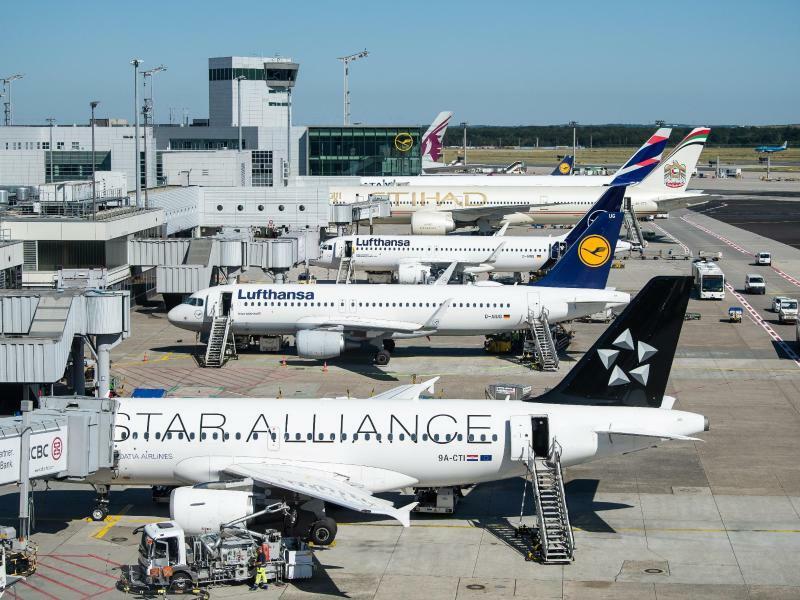 Flughafen Frankfurt - Foto: Silas Stein