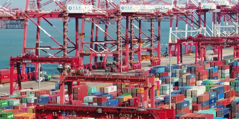 Handelskrieg - Foto: Yu Fangping/SIPA Asia via ZUMA Wire/dpa