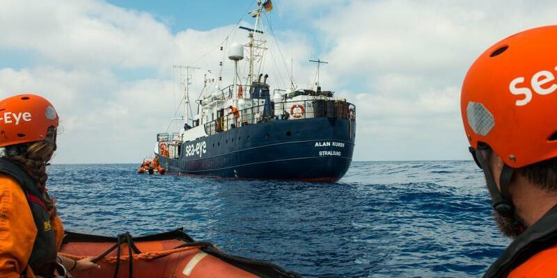 Seenotrettung im Mittelmeer - Foto: Pavel D. Vitko/Sea Eye