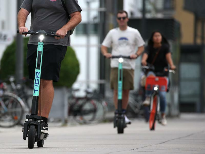 E-Scooter in Köln - Foto: Oliver Berg