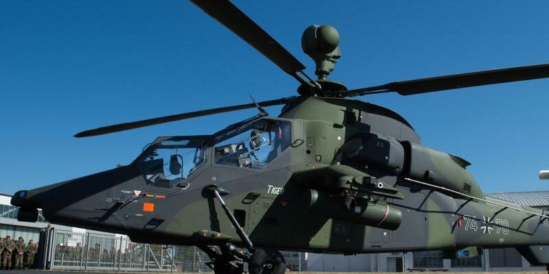 Bundeswehr: Kampfhubschrauber Tiger bleibt in Fritzlar am Boden - Foto: Silas Stein