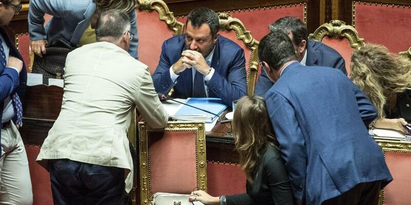 Senatssitzung in Rom - Foto: / Roberto Monaldo