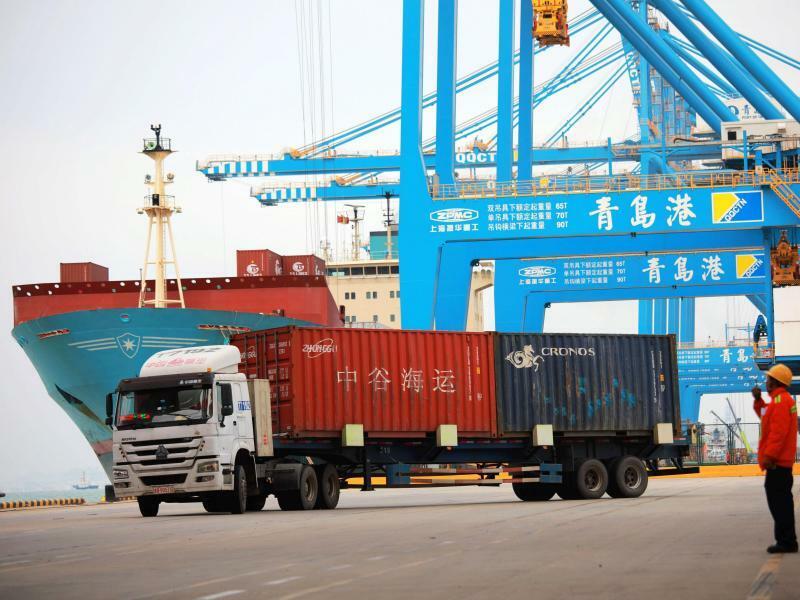 Außenhandel in China - Foto: Yu Fangping/SIPA Asia via ZUMA Wire