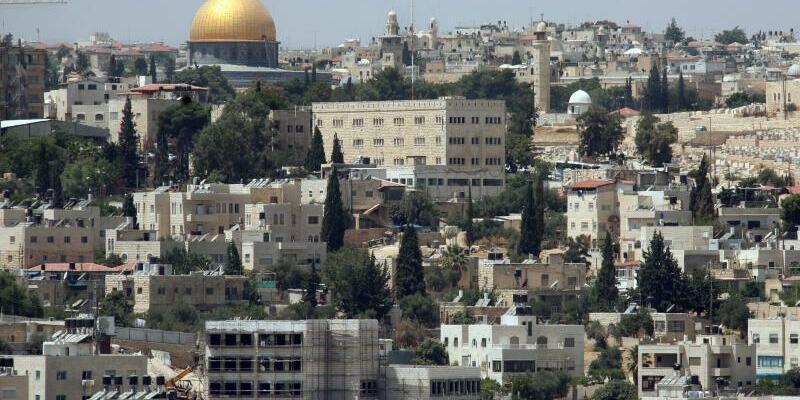 Blick auf Ostjerusalem - Foto: epa Jim Hollander/EPA/Archiv