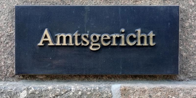 Amtsgericht - Foto: über dts Nachrichtenagentur