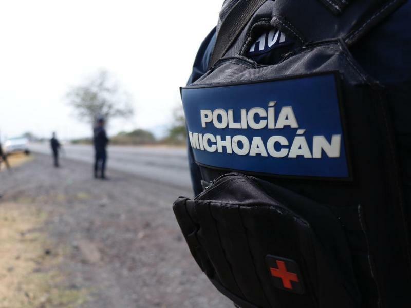 Einsatz in Uruapan - Foto: Sicherheitsamt Michoacan