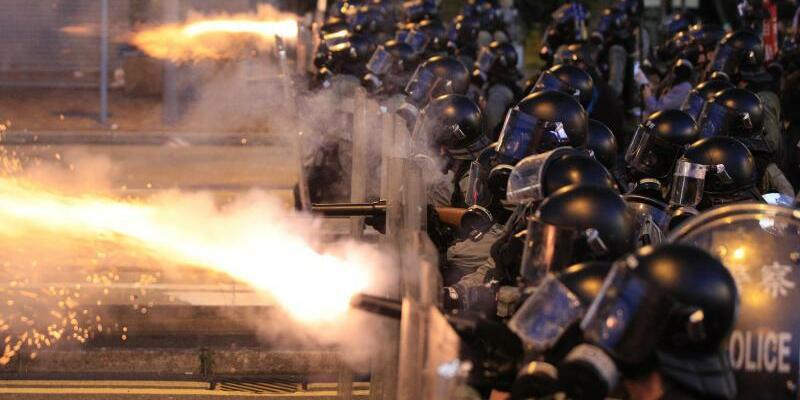 Demonstration in Hongkong - Foto: Jeff Cheng/HK01/AP