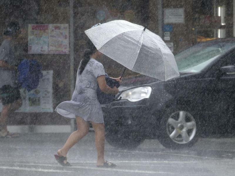 Taifun«Lekima» - Foto: Chiang Ying-Ying/AP