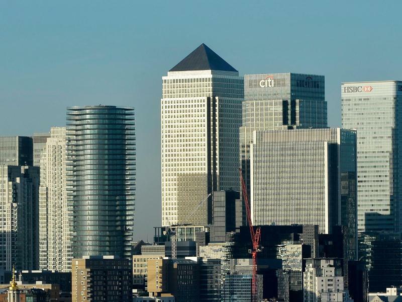 Canary Wharf - Foto: Hannah Mckay/epa/dpa