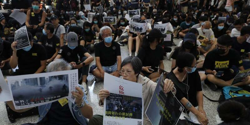Proteste in Hongkong - Foto: Vincent Thian/AP