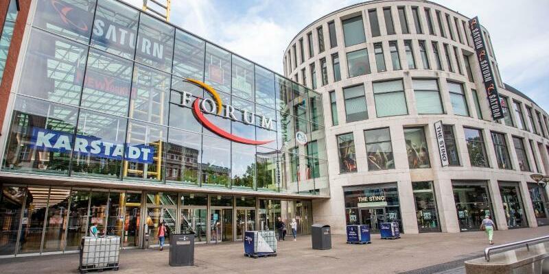 Einkaufszentrum in Duisburg - Foto: Christoph Reichwein