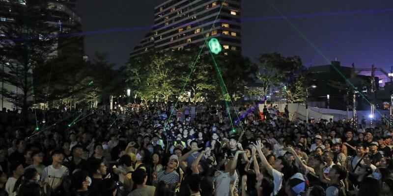 Proteste in Hongkong - Foto: Kin Cheung/AP