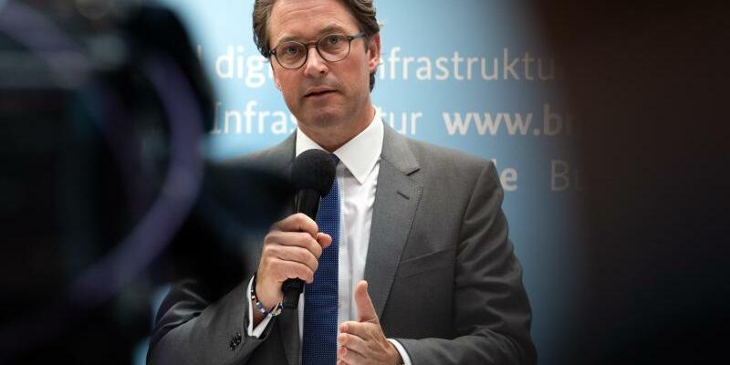 Bundesinfrastrukturminister Andreas Scheuer - Foto: Soeren Stache