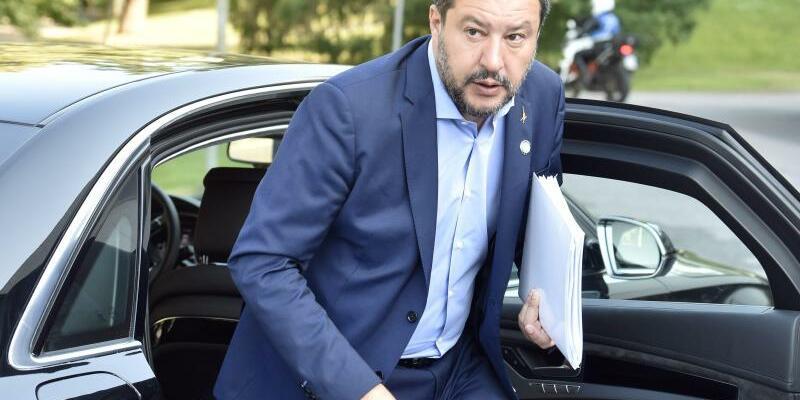 Innenminister Salvini - Foto: Jussi Nukari/Lehtikuva