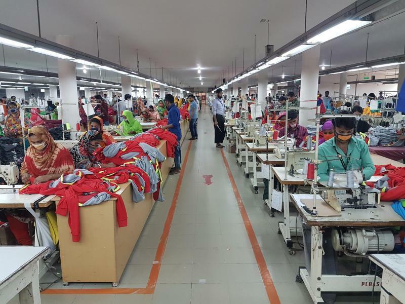 Textilfabrik in Bangladesch - Foto: Nick Kaiser