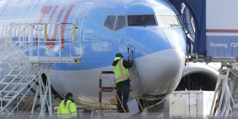 Tui Boeing 737 Max 8 - Foto: Ted S. Warren/AP