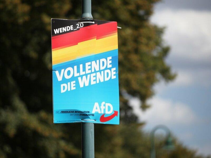 AfD-Plakat - Foto: über dts Nachrichtenagentur