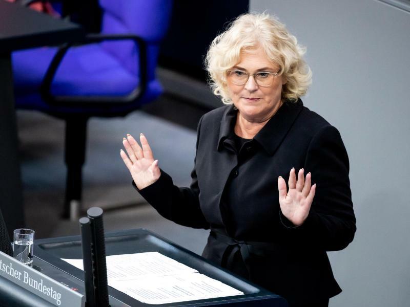 Verbraucherschutzministerin Christine Lambrecht - Foto: Christoph Soeder