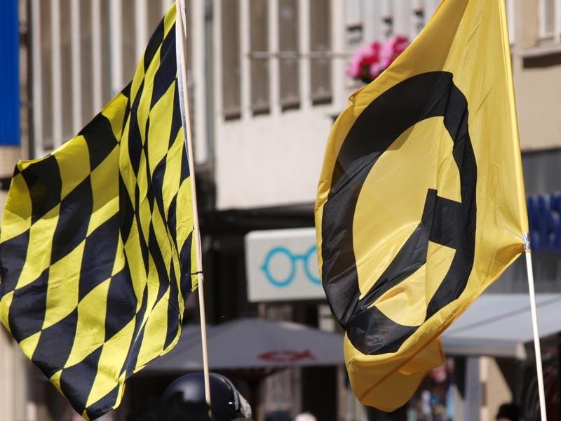Demo der Identitären Bewegung - Foto: über dts Nachrichtenagentur