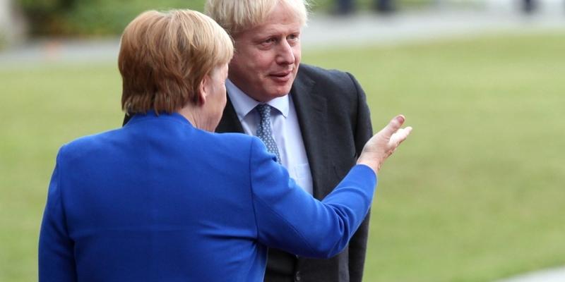 Angela Merkel und Boris Johnson - Foto: über dts Nachrichtenagentur