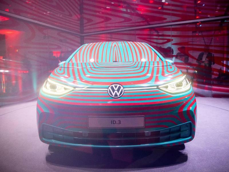 Neues Elekroauto VW ID - Foto: Kay Nietfeld/Archiv