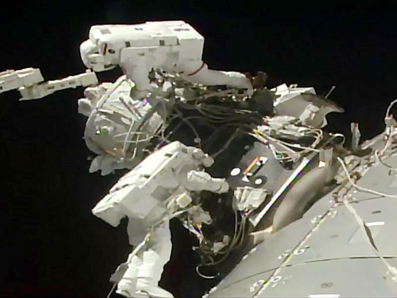 Raumstation ISS - Foto: NASA