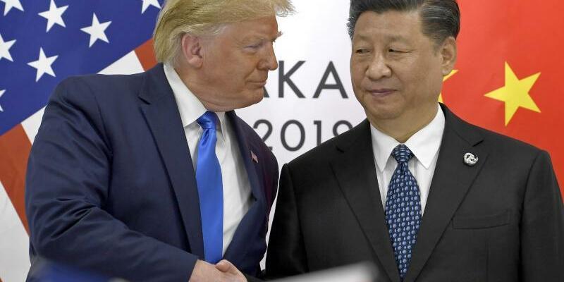 Handelskonflikt China-USA - Foto: Susan Walsh/AP