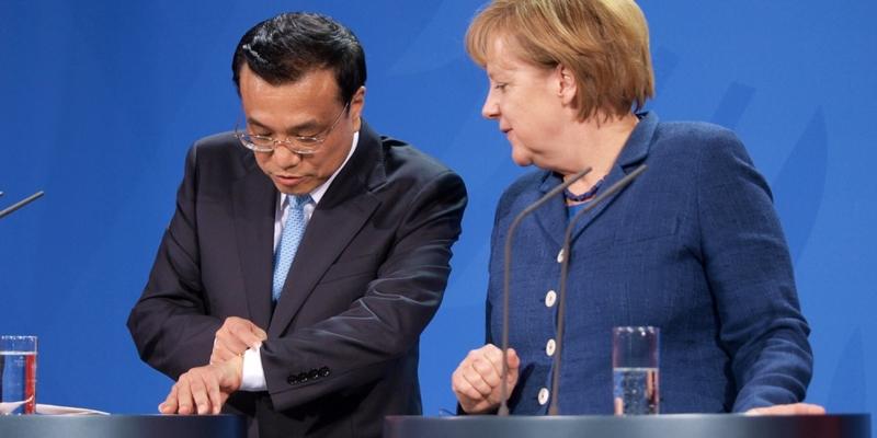 Li Keqiang und Angela Merkel - Foto: über dts Nachrichtenagentur