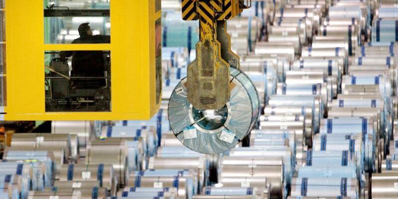 Stahlindustrie - Foto: Bernd Thissen
