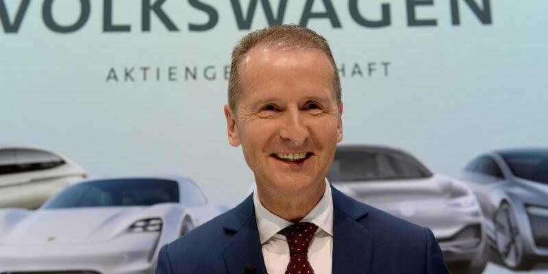 VW-Chef Diess - Foto: Swen Pförtner