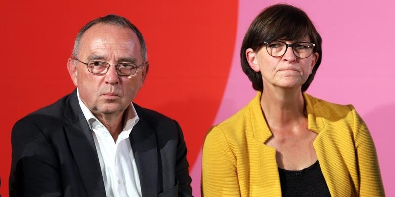 Norbert Walter-Borjans und Saskia Esken - Foto: über dts Nachrichtenagentur