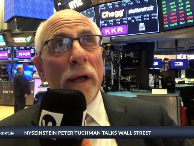Normales Volumen, Gold wird verkauft... während wir einiges rot sehen, haben vor allem drei Aktien für grüne Vorzeichen beim Dow gesorgt. Die Rezession ist erst einmal vom Tisch, sagt NYSEinstein Peter Tuch. Mehr Details gibt er in seinem Inside Wirtschaft-Blog. - Foto: anlegerverlag.de