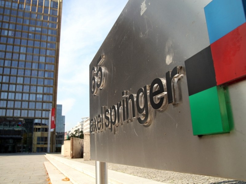 Axel-Springer-Verlag - Foto: über dts Nachrichtenagentur