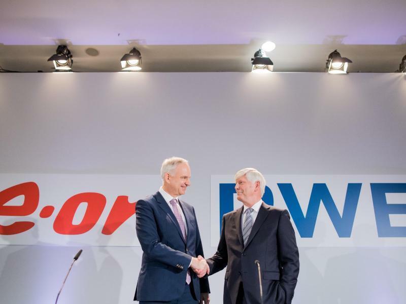 RWE und Eon - Foto: Rolf Vennenbernd/Archiv