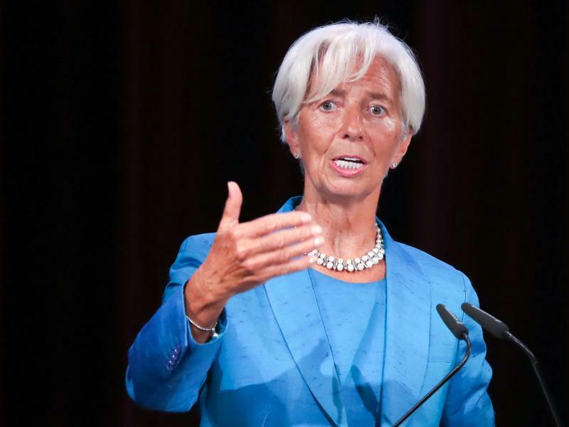 Christine Lagarde - Foto: Jan Woitas