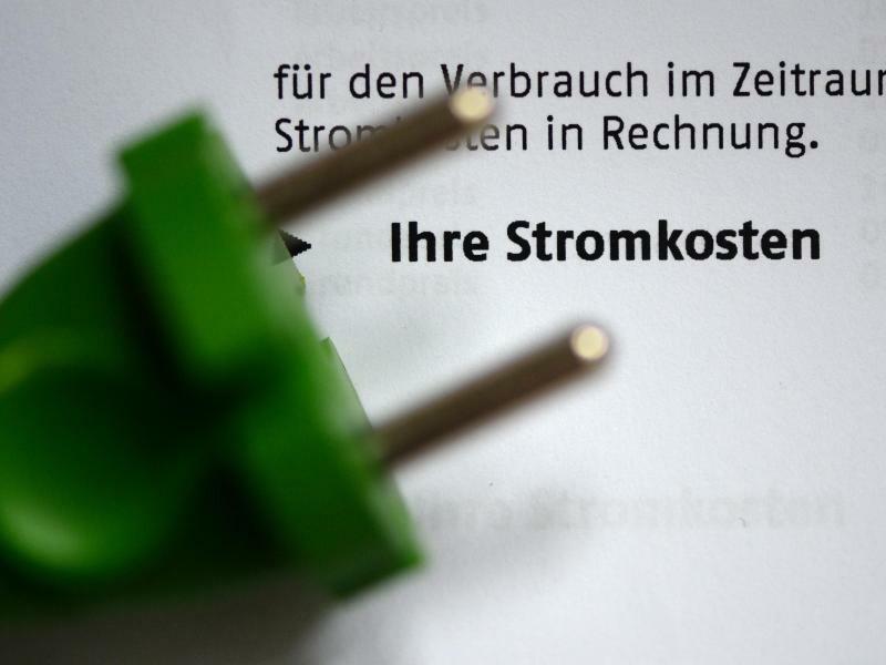 Stromrechnung - Foto: Jens Kalaene