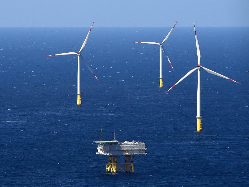 Offshore-Windpark - Foto: Christian Charisius